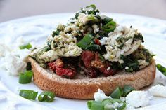 Mix and Match Mama: Dinner Tonight: Spinach and Sun Dried Tomato Joes