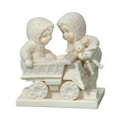 Snowbabies;Keep Truckin' Figurine