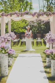 Floral Design + Rentals: Little Flower Shop - Lilac Inspired Romance from Divine Weddings & Events + Sugar and Soul Photography