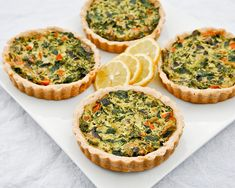 Gluten free crust and quiche  recipe:3/4 c. Amaranth flour, 3/4 c. White Rice flour,  1/4 c. + 2 Tbsp Potato Starch,  1 Tbsp Arrowroot, 1/2 tsp salt, 3 Tbsp Coconut Oil (at room temperature), 3 Tbsp Canola oil (or some other neutral oil),  1.5 Tbsp Apple Cider Vinegar,  2.5 Tbsp cold water,  Olive oil (optional – to brush over the top of the crust)