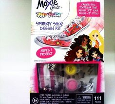 Moxie Girlz Sparkly Shoe Design Kit Create Your Own Design