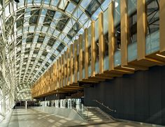 Photo of the Day showing the new Union Station terminal for the UP Express air rail link. Union Station, Urban Planning, 21st Century, Toronto, Stairs, Architecture, City, Building, June 19
