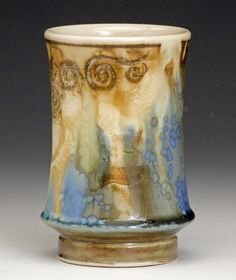 Bulldog Pottery   Samantha Henneke, Bulldog Pottery, Seagrove, NC -  Cup: The Intimate Object X, Charlie Cummings Gallery- Lots of cups & mugs now available online www.claylink.com