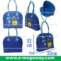 #SpongBob #Squarepants #Fans #Licensed #Characters #Tote #ShoulderBag #Blue #Kids #Girls #Play #Toys #Wear #Stationery #Megaway #MegawayBags #CC-1287-81085