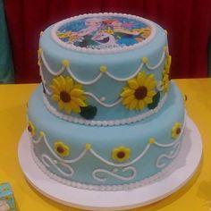 Bolo Frozen!!! #cake #pastaamericana #bolo #amoconfeitar #confeitaria #frozen