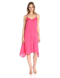 Lark and Ro Women's Handkerchief Midi Dress *** Find out more details by clicking the image : Women clothing