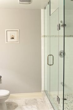 tile work in shower