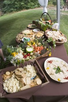 """The beautiful hors d'oeuvres my """"uncle"""" made for my cousin @Sara Monahan Coccia's wedding"""