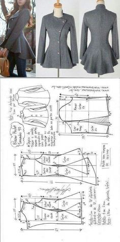Amazing Sewing Patterns Clone Your Clothes Ideas. Enchanting Sewing Patterns Clone Your Clothes Ideas. Diy Clothing, Sewing Clothes, Clothing Patterns, Dress Patterns, Sewing Patterns, Sewing Shirts, Fashion Patterns, Coat Patterns, Clothing Websites