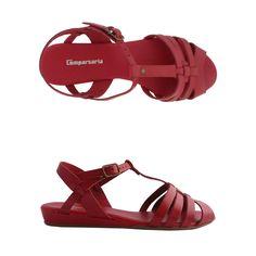 Sandália Maria vermelha Comparsaria