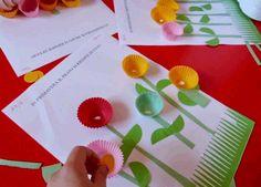 Kağıt Kek Kalıplarıyla Çiçek Sanat Etkinlikleri