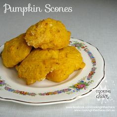 Pumpkin Scones - Thermomix Recipe - Cooking in the Chaos Pumpkin Scones, Savoury Baking, Lunch Box Recipes, Cupcake Cakes, Cupcakes, Tray Bakes, Kids Meals, Simple Baking, Sweet Treats
