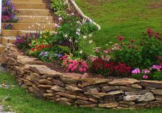 stone walls landscaping   very big decorative landscape rock which is of an interesting form ...
