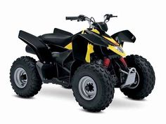 New 2017 Suzuki QUADSPORT Z90 ATVs For Sale in Illinois. The 2017 Suzuki Z90 is the ideal ATV for young riders to grow skills with. Convenient features like an automatic transmission and electric starter help make this ATV suitable for supervised riders ages 12 and up. An easy-to-set throttle limiter lets adults set the power level appropriately for young riders, and a keyed ignition switch makes sure there's no unauthorized journeys. Get your little ones started on the Quadsport Z90 so your…