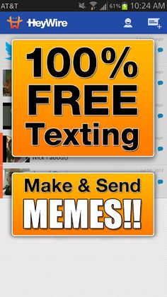 "Text FREE. Really Free! <p>We give you a real US number for free, that can text ANY number. The person you are texting DOES NOT need to have HeyWire, you can text them directly to their normal phone.<p><p>FEATURES:<br>★ Text FREE from the Web: Go to app.heywire.com, login with your HeyWire number<br>★ Text FREE from your Mac: <a href=""https://www.google.com/url?q=https://itunes.apple.com/us/app/heywire/id696765599?mt%3D12&sa=D&usg=AFQjCNELXnFFkRMfveiIpuEf7qymiV7q4w""…"