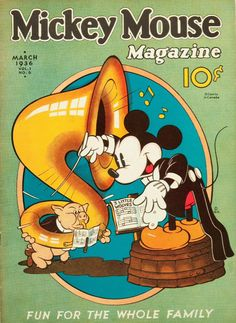 Mickey Mouse Magazine 1936