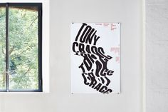 ccrz - Museo d\'Arte Lugano - Tony Cragg poster