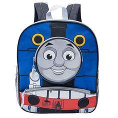 296f500abfb4 Thomas the Train and Friends Boys Preschool 14 inch School Backpack (Blue)