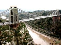 Clifton Suspension Bridge - Bristol, England;  photo by alyrees, via Flickr