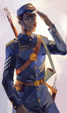 TJ (Thomas Jefferson Jr) from Magnus Chase and the Gods of Asgard. Rick Riordan's official art by Viria. Thomas Jefferson, Rick Riordan Series, Rick Riordan Books, Percy Jackson Fan Art, Percy Jackson Fandom, Percy Jackson Official Art, Viria Percy Jackson, Magnus Chase Books, The Kane Chronicles