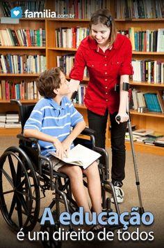 Familia.com.br | Como implementar na escola a inclusão social de crianças com deficiências #Deficienciafisica #Inclusao #Superacao