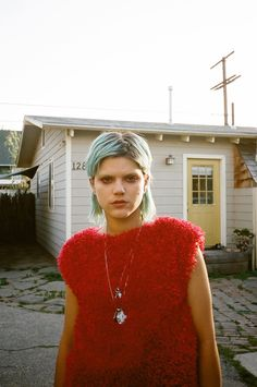 Soko for Junk Magazine April 2015, http://celebshoot.net/soko-junk-magazine/