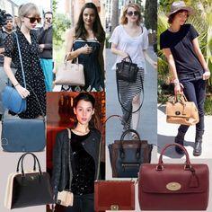 Top 10 Most Zany Fall 2013 Handbags - Designer Handbags and Purses Fashion Handbags, Fashion Bags, Fashion Trends, Studded Handbags, Designer Handbags, Designer Bags, Fashion Gallery, Celebs, Celebrities