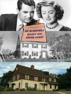 """""""Mr. Blandings Builds His Dream House"""" is a 1948 comedy starring Cary Grant and Myrna Loy. (Their 3rd and last movie together) The house built for the film still stands on the old Fox Ranch property in Malibu Creek State Park, and is used as an office for the Park."""