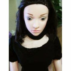 Semi-Solid Sex Doll Inflatable Oriental Girl