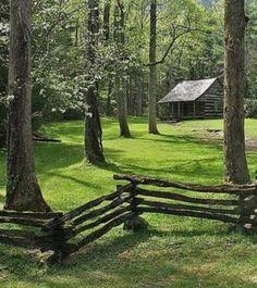 Log Cabin …