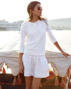 De perfecte lente look? All white is een perfecte kleur voor tijdens je fotoshoot. ♥ gepind door heleenschrijvershof.nl