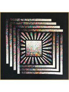 Garden Cube Quilt Pattern