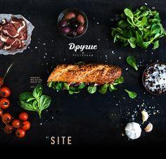 Baguette Sandwich, Behance, Ui Ux Design, Graphic Design, Restaurants, Avocado Toast, Design Inspiration, App, Mobile Ui