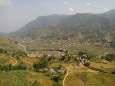En direction du village de Hau Thao près de Sapa.