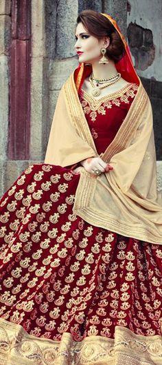 156755: BRIDAL WEAR - #Lehenga. Get yourself an Indian Wedding! shop for this pretty wedding couture.  #Bride #Dday #forher #fashion #women #weddingtheme #weddingshopping