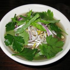 Seaweed Salad, Pho, Spinach, Asian, Vegetables, Inspired, Ethnic Recipes, Vegetable Recipes, Veggies