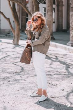 White Jeans, Beauty, Casual, Pants, Shopping, Fashion, Chic Outfits, Products, Jackets