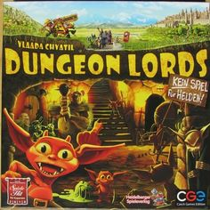 Dungeon Lords - Deal of the Day - Deals & Specials | Board Game Warehouse - 45% Off!