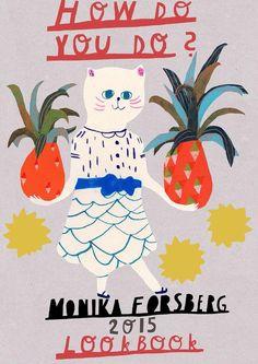 Monika Forsberg 2015 lookbook