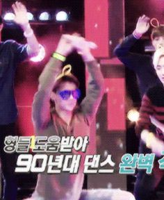 EXO in da club be like