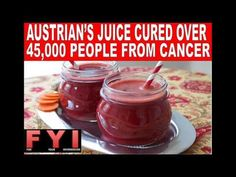 The Juice That Kills Cancer Cells, Treat Diabetes, Gastritis and Lower Blood Pressure! - YouTube