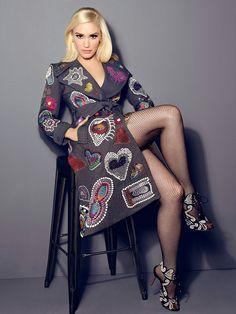 Gwen Stefani: Outtakes of Cosmo photoshoot by James White Gwen Stefani Legs, Gwen Stefani No Doubt, Gwen Stefani And Blake, Gwen Stefani Style, Gwen Stefani Fashion, Gwen Stephanie, Style Feminin, Pantyhose Outfits, Fishnet Stockings
