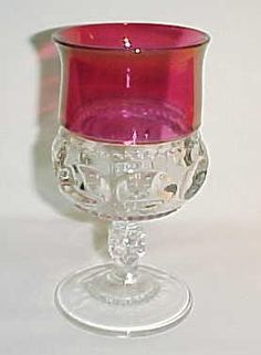 Love these Kings Crown Goblets