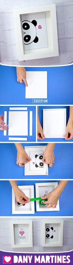 33 best Ideas for diy facile quarto Diy Paper, Paper Crafts, Panda Images, Diy And Crafts, Crafts For Kids, Diy Wedding, Wedding Vintage, Paper Doilies, Alice In Wonderland Party