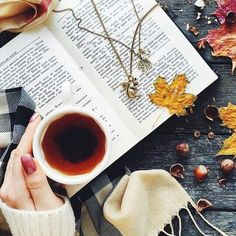 Fall - time for tea and books