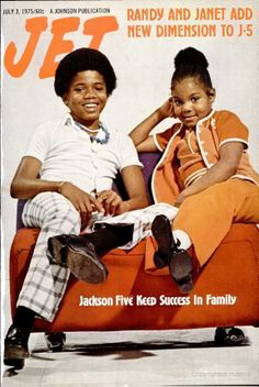 Jet: Randy & Janet Jackson, July 3, 1975