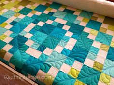 Blogger's Quilt Festival ~ Big Star Quilt | Orchid Owl Quilts