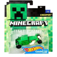 Check out the Minecraft Hot Wheels Creeper Vehicle at the official Hot Wheels website. Explore the world of Hot Wheels Minecraft today! Custom Hot Wheels, Hot Wheels Cars, Minecraft Hot Wheels, Mine Minecraft, Minecraft Party, Minecraft Houses, Minecraft Gifts, Minecraft Mobs, Bath N Body Works