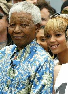 Mandela and Beyonce