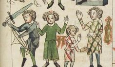1350-1375, Germany.